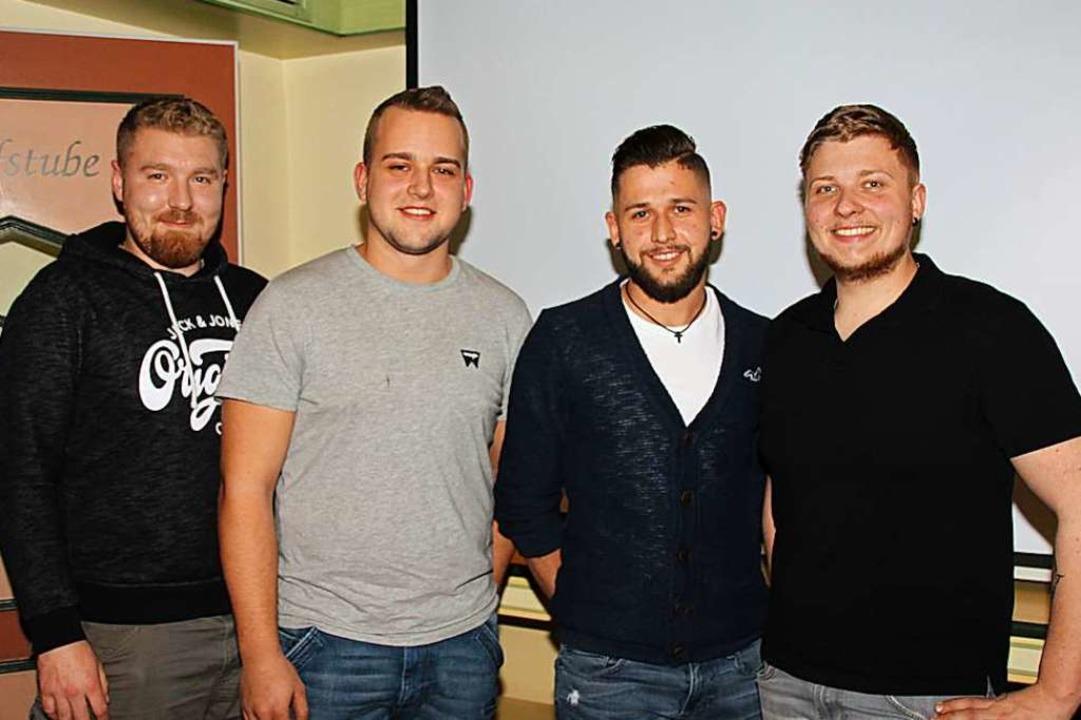 Neu im Vorstandsteam sind (von links) ...im Steiner und Gerätewart Sascha Rein.  | Foto: Mario Schöneberg