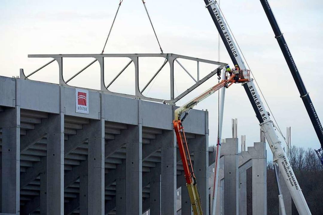Die Stadiongesellschaft war mit 9,5 Mi...m Jahr 2019 ein großer Verlustbringer.    Foto: Ingo Schneider