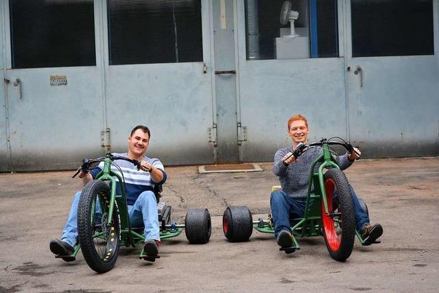 Student aus Lahr stellt Drift Trike her