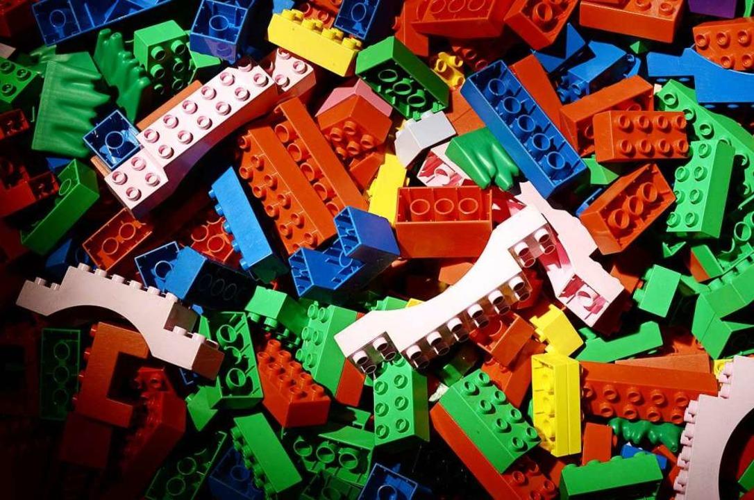 Schön bunt: Legosteine  | Foto: Jens Kalaene