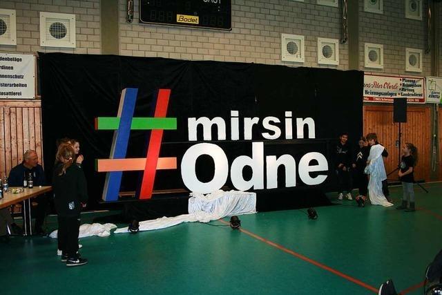Der Hashtag steht fürs Jubiläum beim TuS Ottenheim