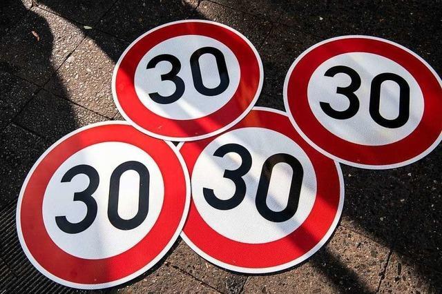 Der Nutzen der Tempo-30-Zone wird angezweifelt
