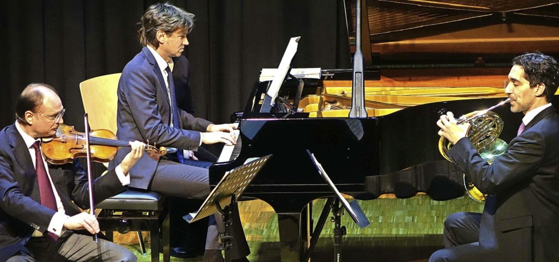 Mit kultiviertem Klang und schön ausba...inem Konzert in der Wehrer Stadthalle.  | Foto: Roswitha Frey
