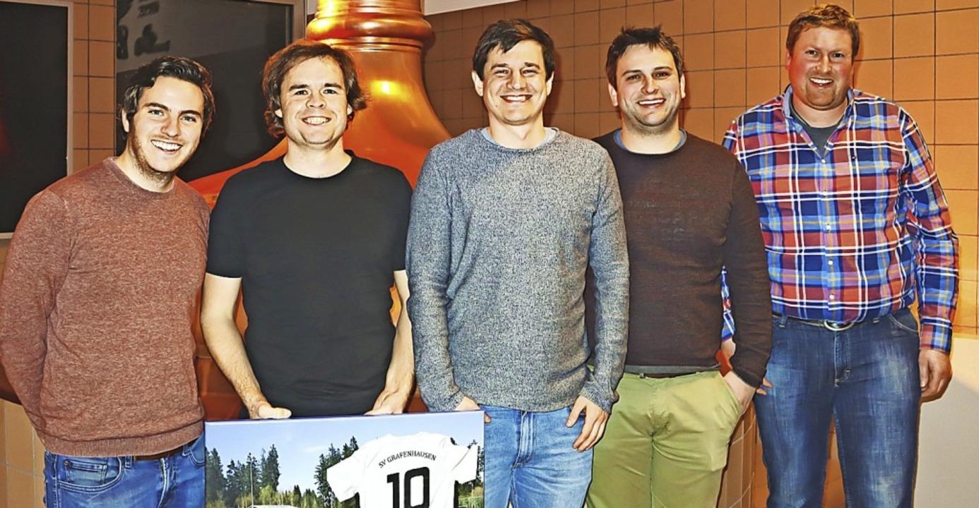 SVG-Vorstand (von rechts): Vorsitzende...llvertretende Vorsitzende Felix Gatti.  | Foto: Wilfried Dieckmann