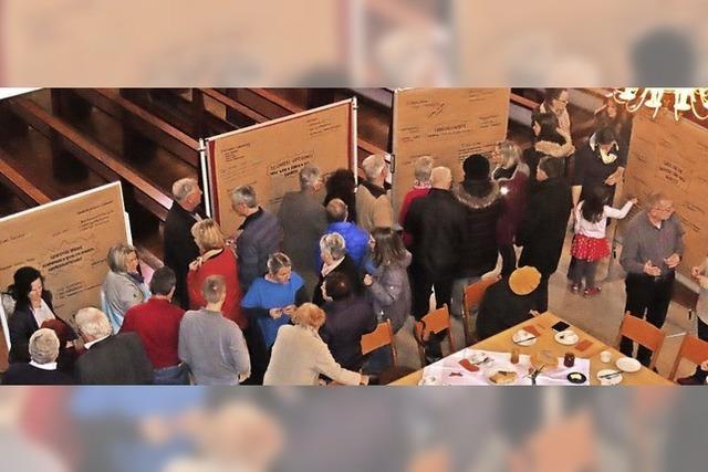 Murger Katholiken machen Anregungen für gelebten Glauben vor Ort