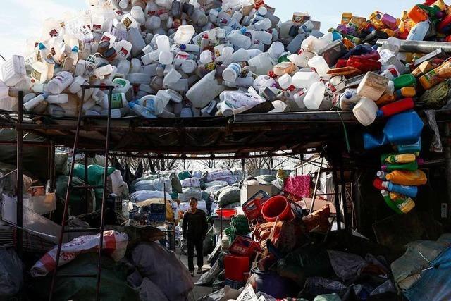 Peking verordnet den Plastikentzug