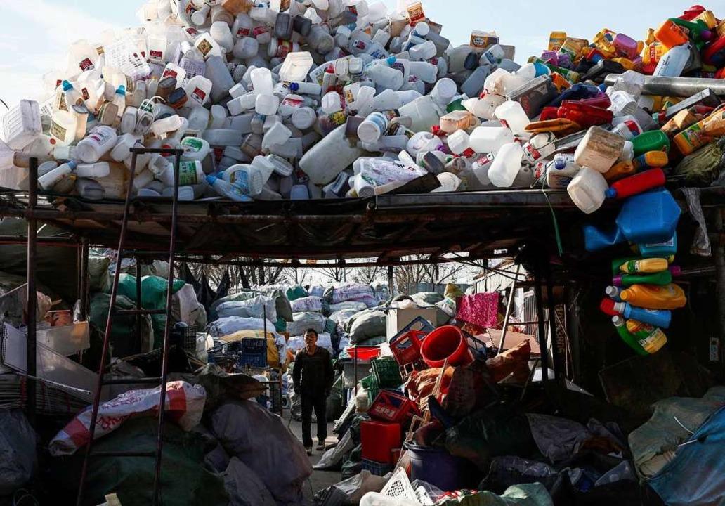 Plastikmüll in China  | Foto: Rolex De La Pena