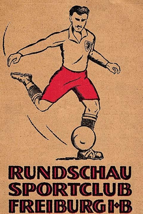 SC-Vereinszeitschrift von 1934  | Foto: Archiv des SC Freiburg