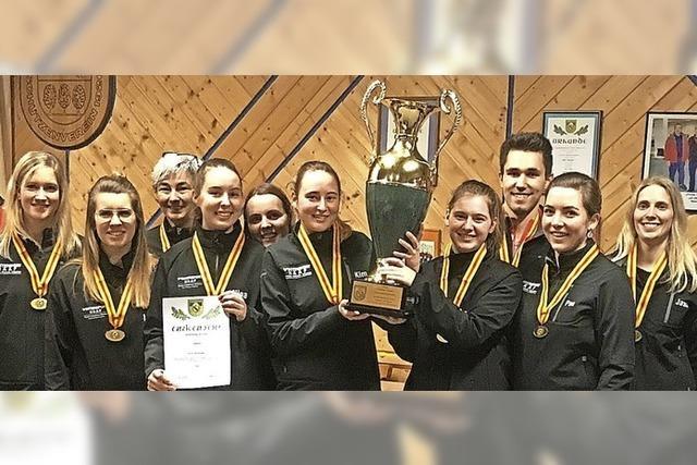 Heitersheimer Schützen feiern Meistertitel