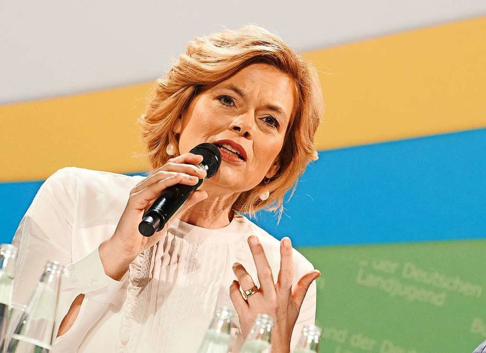 Julia Klöckner (CDU), Bundesministerin für Ernährung und Landwirtschaft    Foto: Annette Riedl (dpa)
