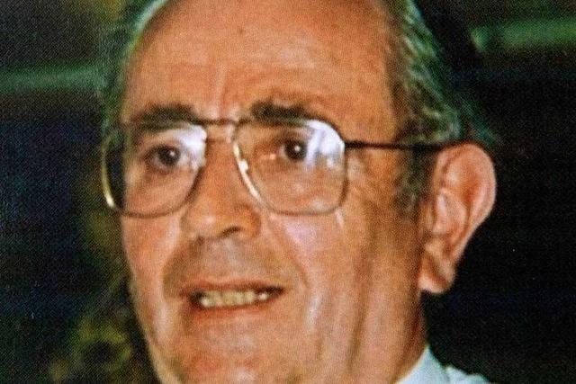 Trauer um den früheren Müllheimer Hauptamtsleiter Hans Forsthuber
