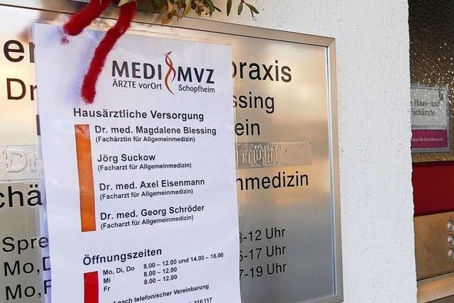 Der Ansturm auf das Medizinische Versorgungszentrum in Schopfheim ist groß