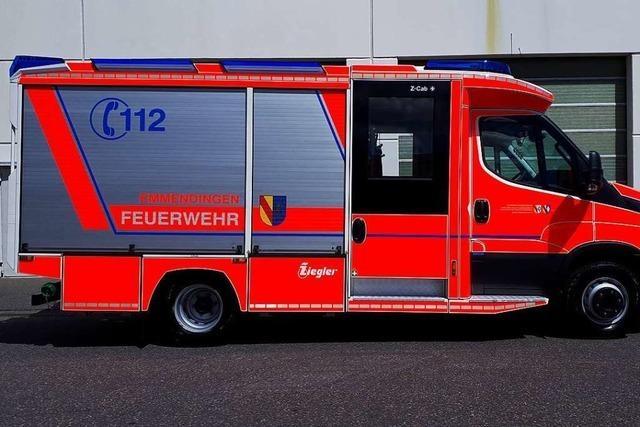 Vörstettens Freiwillige Feuerwehr bekommt teureres neues Löschfahrzeug