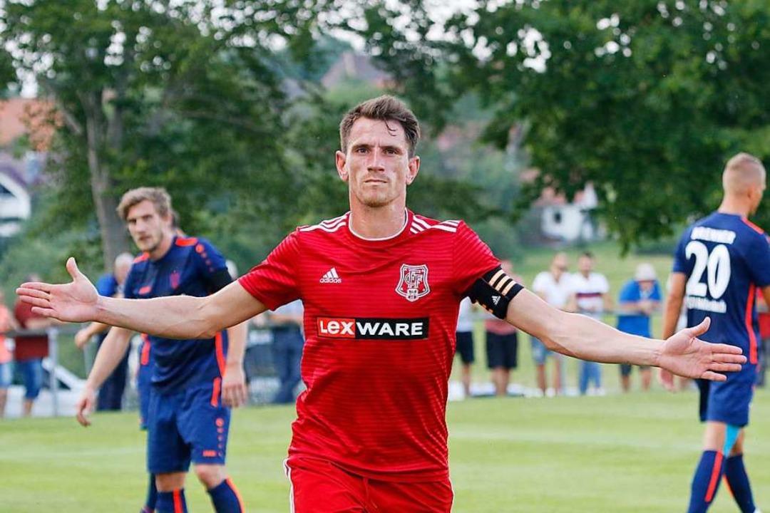 In der laufenden Oberligasaison kam Se...ht Einsätze und erzielte drei Treffer.  | Foto: Benedikt Hecht
