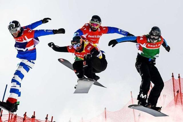 Zu wenig Schnee: Weltcup der Snowboardcrosser am Feldberg abgesagt