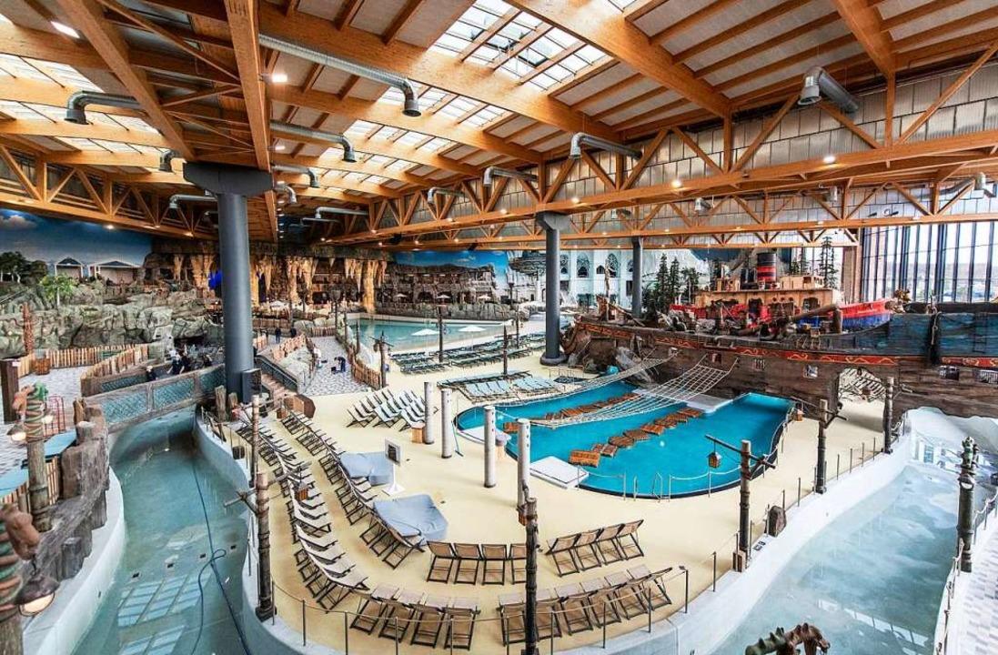 Indoor-Wasserwelt Rulantica in Rust  | Foto: Patrick Seeger (dpa)