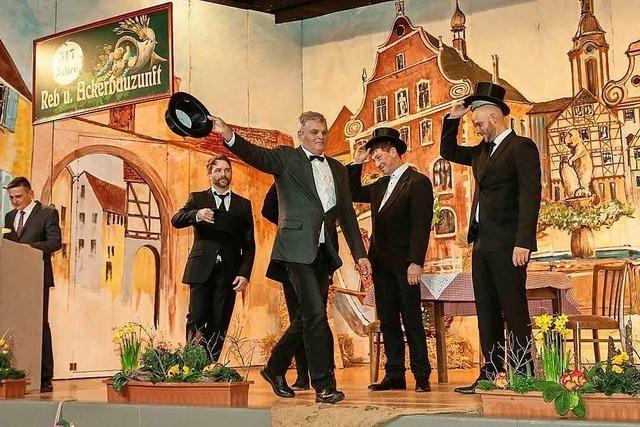 Reb- und Ackerbauzunft feiert Zunftabend mit mehr als 450 Besuchern