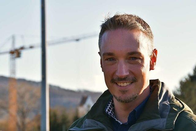 Schallstadter Bürgermeisterkandidat Ricky Zinn: