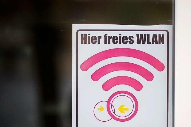 Freies WLAN soll es vorerst nur beim Rathaus geben