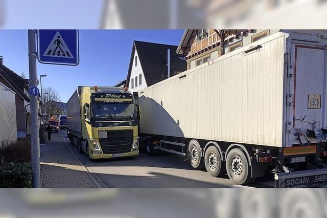 Sperrung im Höllental sorgt für stockenden Verkehr