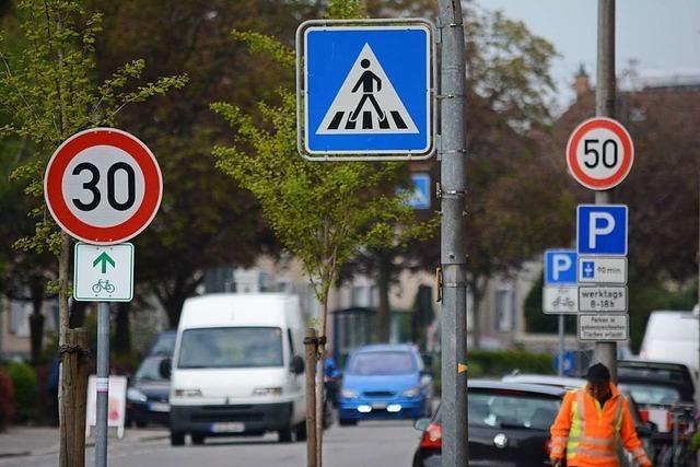 Verkehrsplaner: Tempo 30 wäre in ganz Weil am Rhein machbar