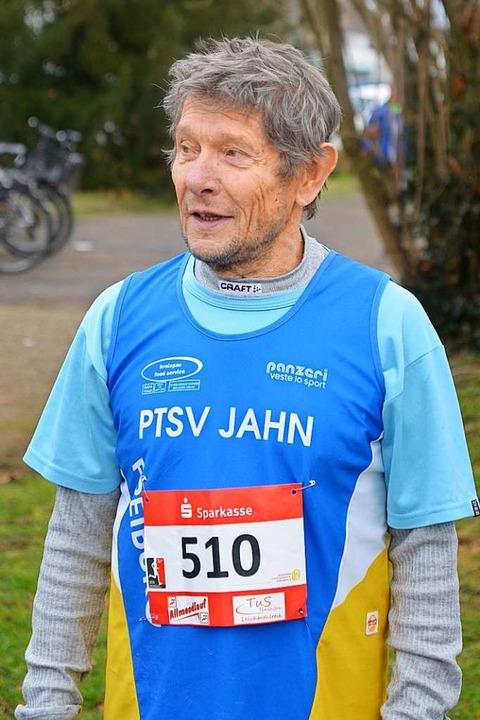 Je älter er wird, desto mehr treibt er...Klaus Holfeld setzt sich weiter Ziele.  | Foto: Karl-Hermann Murst