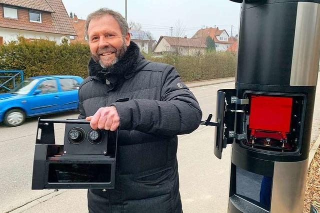 Offenburg rüstet auf – und hat bald zehn Blitzersäulen