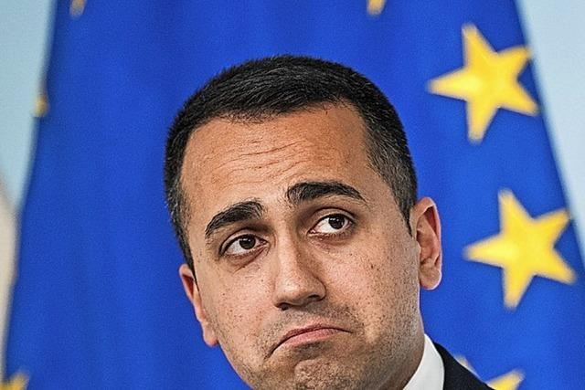 Di Maio tritt als Chef der Fünf Sterne zurück