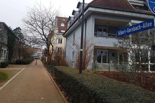 Albert-Gersbach-Allee wird zur Fahrradstraße