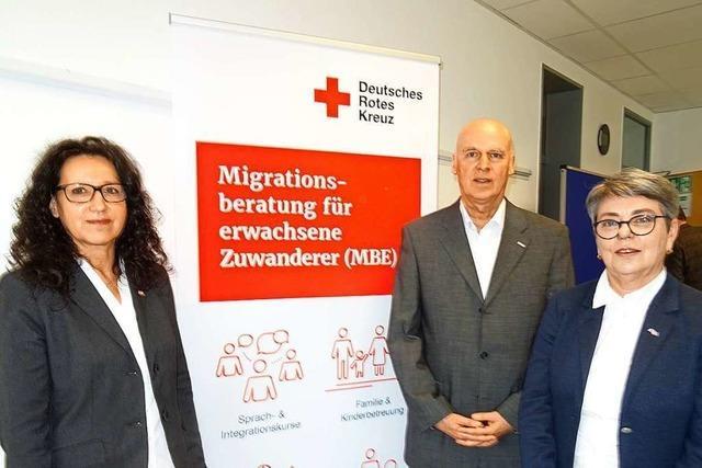 Das Rote Kreuz Lörrach hilft Zuwanderern, im deutschen Alltag anzukommen