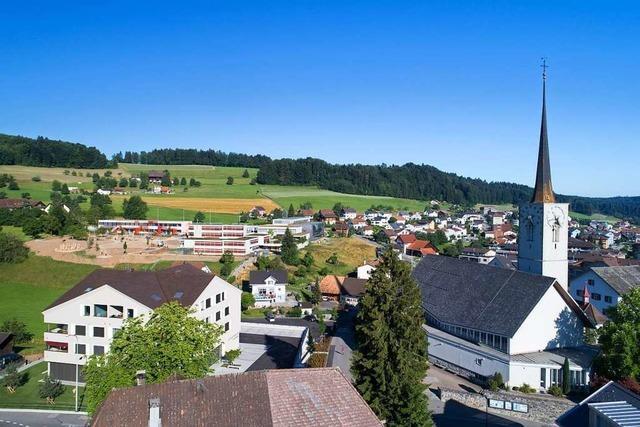 Rickenbacher aus 9 Orten namens Rickenbach treffen sich in Rickenbach im Kanton Luzern