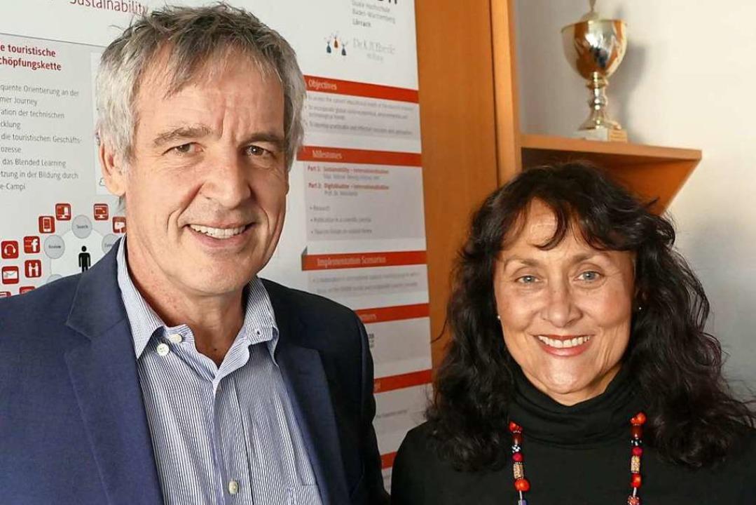 Valentin Weislämle und Wendy Fehlner  | Foto: Nina Witwicki