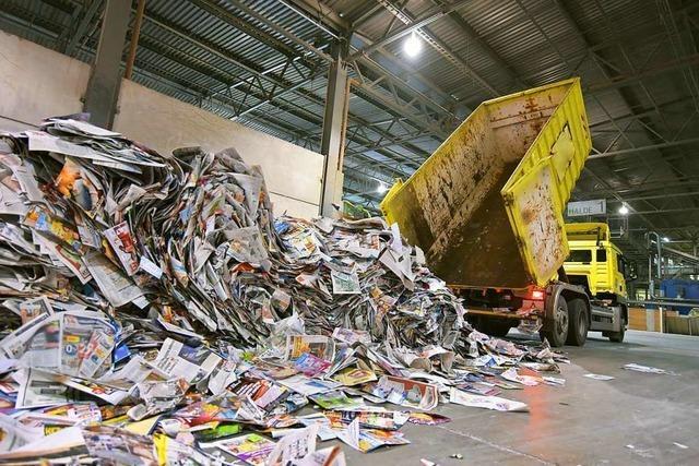 Für Papier gibt's weniger Kohle
