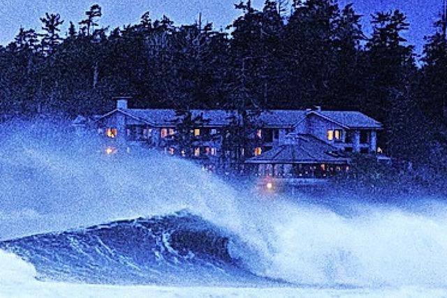 Sturmspotting auf Vancouver Island