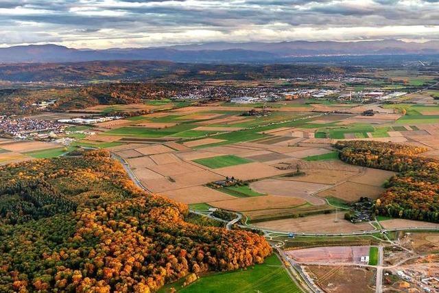 Die Gebiete östlich des Rulantica-Wasserparks bleiben vorerst unbebaut