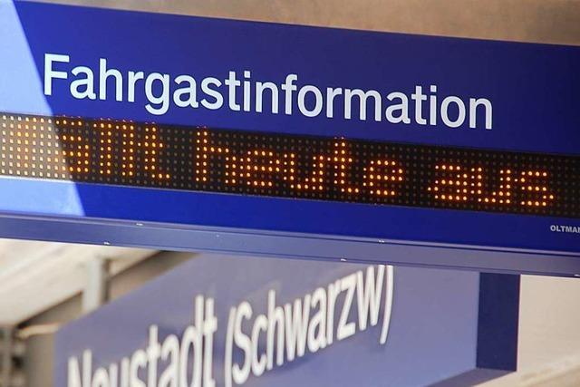 Land plant Entschädigung für Zugausfälle – aber nicht bei der Breisgau-S-Bahn