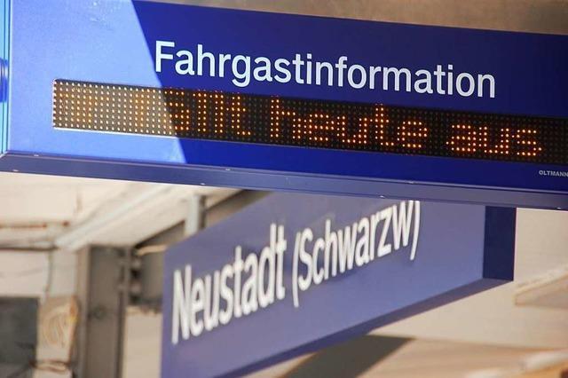 Entschädigung für Zugausfälle geplant - aber nicht bei der BSB