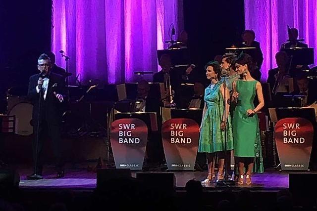 Was ging bei … Götz Alsmann und der SWR Big Band im Konzerthaus?