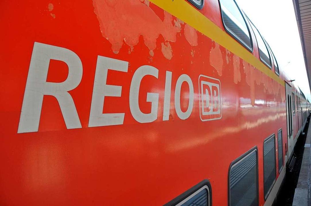 In einem Regionalexpress soll am Mittw...r einen 16-Jährigen angegriffen haben.  | Foto: Daniel Gramespacher