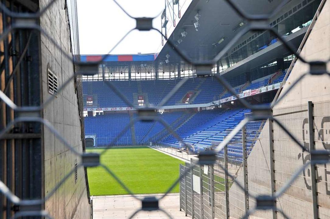 Der St. Jakobspark – hier trägt der FC Basel seine Heimspiele aus.  | Foto: Daniel Gramespacher