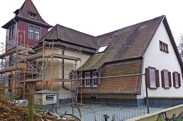 Die Sanierung des Jugendhauses ist fast abgeschlossen