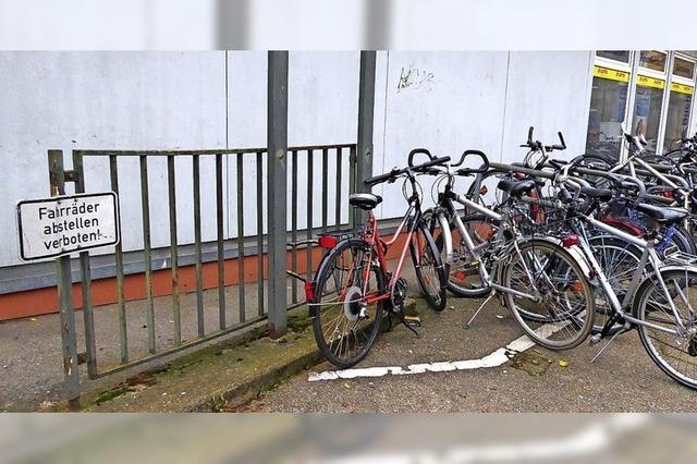Parken für Fahrräder bleibt ebenerdig