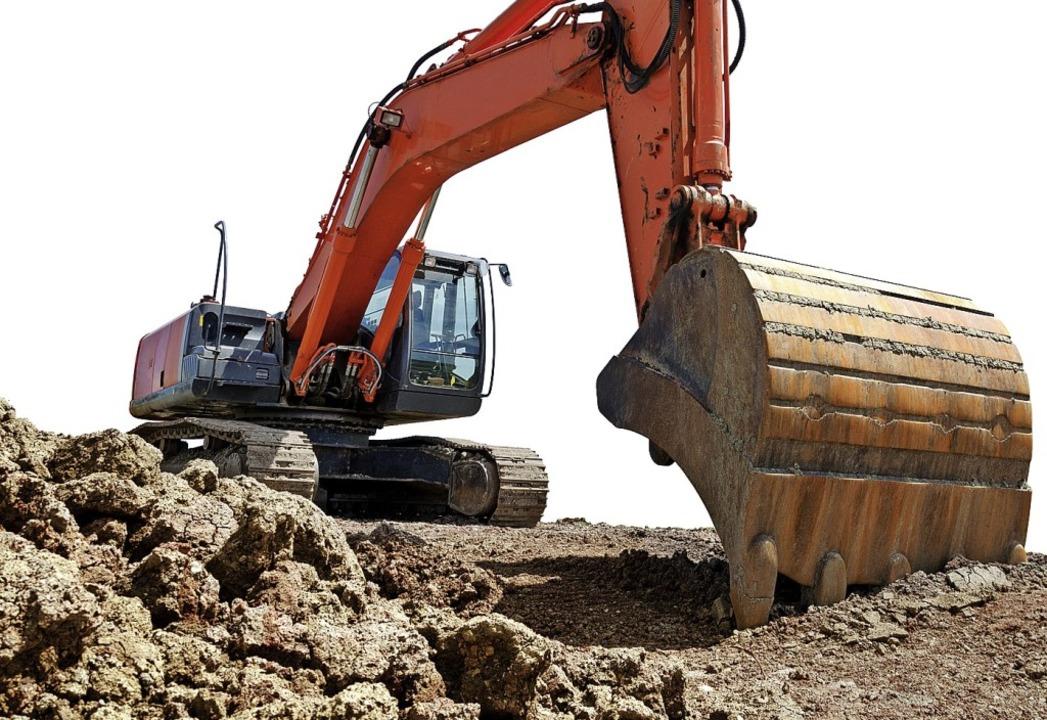 Die Bagger könnten Ende 2020 im Neubau...echlinsbergen anrollen (Symbolbild) .   | Foto: Petair - stock.adobe.com