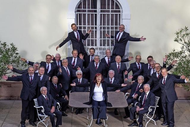 Männergesangverein Liederkranz Heimbach startet in Teningen-Heimbach ins Jubiläumsjahr