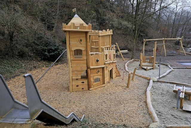 Diersburger Spielplatz ist fertig