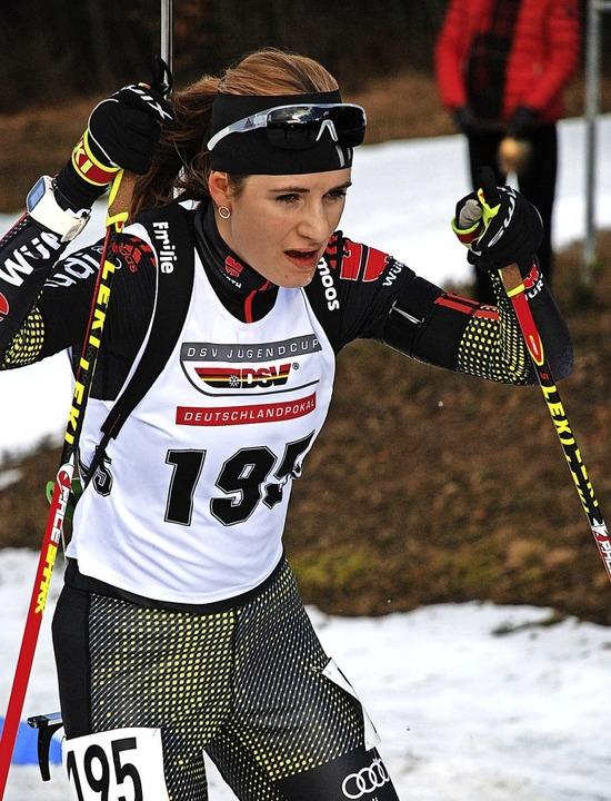 Emilie Behringer hat sich  mit drei Si...land bei der Jugend-Weltmeisterschaft.  | Foto: ruoff