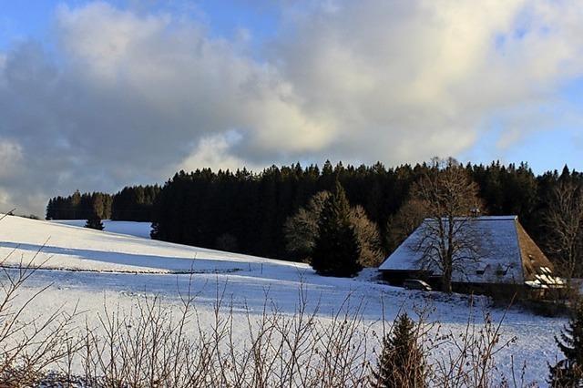 Noch nicht ganz ausgestorben: Schnee im