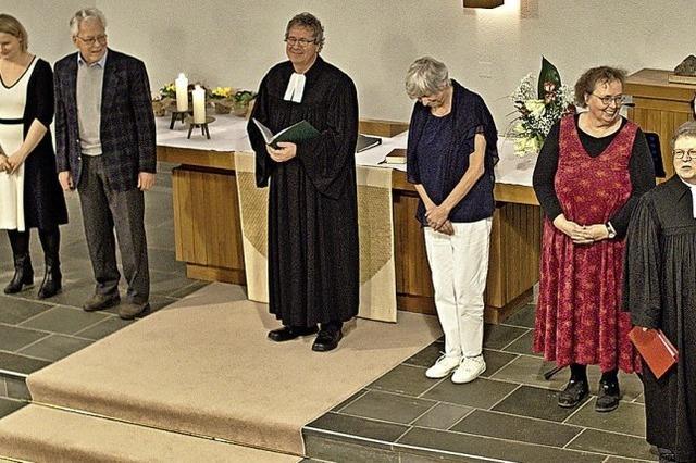 Kirchengemeinderäte nehmen ihr Amt auf