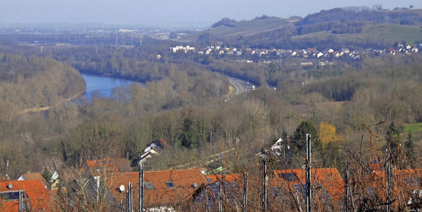 Auch im Januar für den Wintertourismus...gen und die Aussicht auf den Altrhein.  | Foto: Jutta Schütz