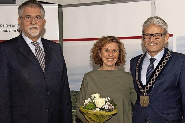 Martin Löffler wird als Bürgermeister verpflichtet